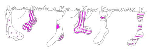Мила Попнеделева-Генова. Чорапки