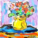Йордан Калайков - Натюрморт с цветя