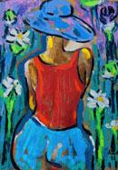 Йордан Калайков - Дама с шапка