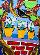 Йордан Калайков - Дом с дърво и птица