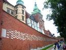 Албена Вачева. Северният вход към Кралския замък на хълма Вавел в Краков