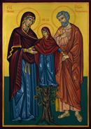 Димитър Лазаров - Св. праотци Йоаким и Анна